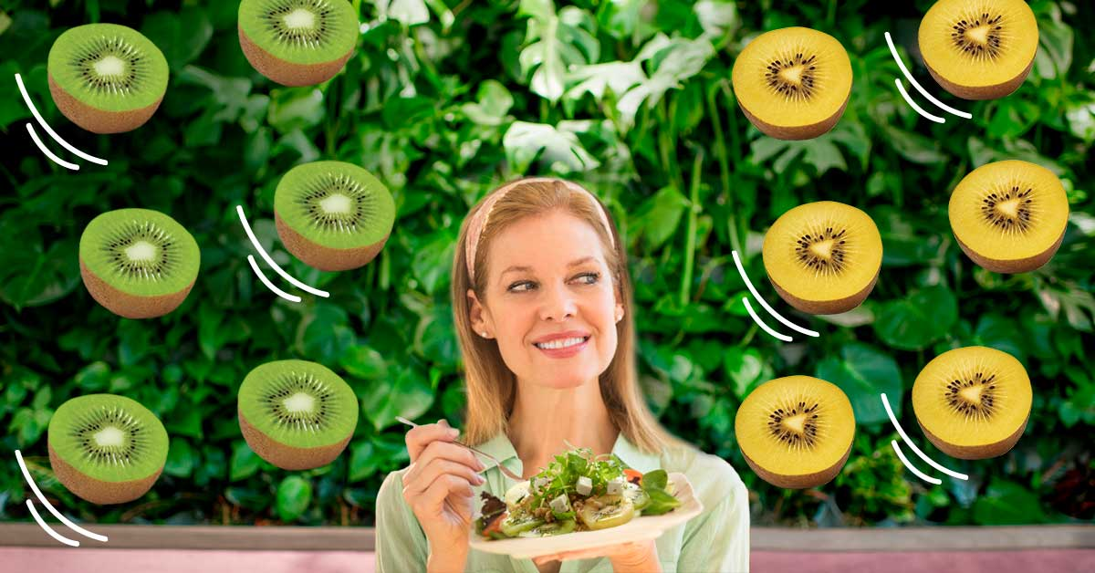 We share 5 kiwifruit meals that are rich in folate and taste delicious.