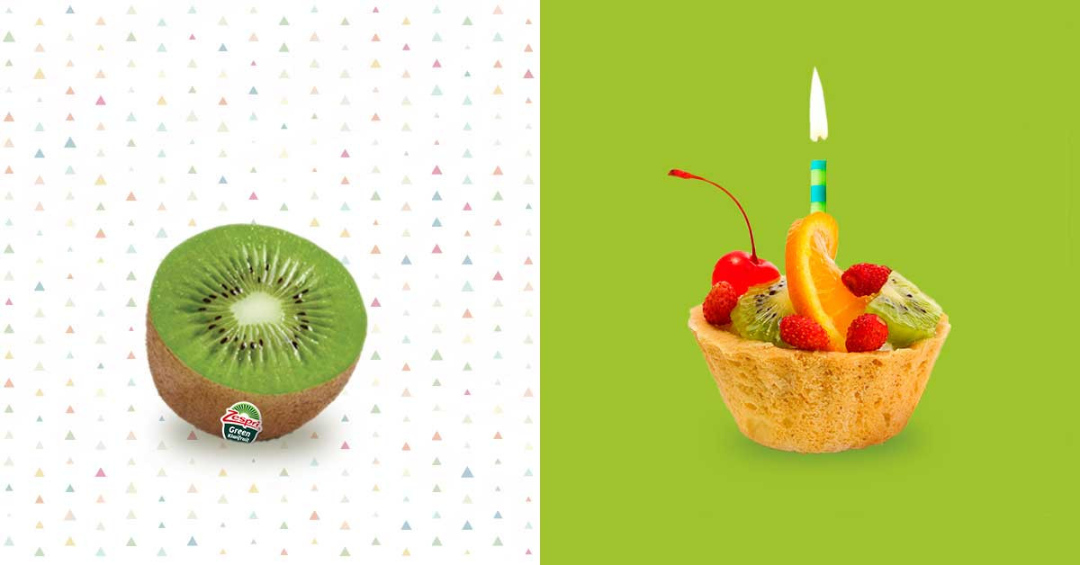 These unique birthday party foods are made with fresh and tangy Zespri Green kiwifruit, a nutritious ingredient that will add a splash of colour to your festivities.