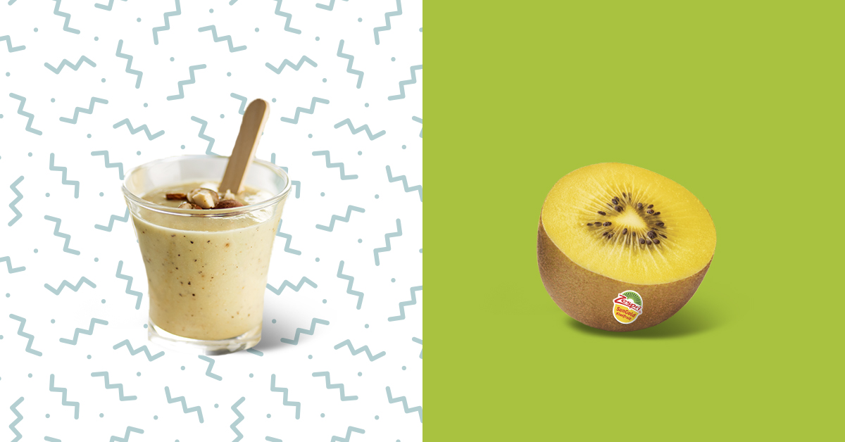 Zespri SunGold kiwifruit is a tasty and nutritious way to stay hydrated during those hot summer months.