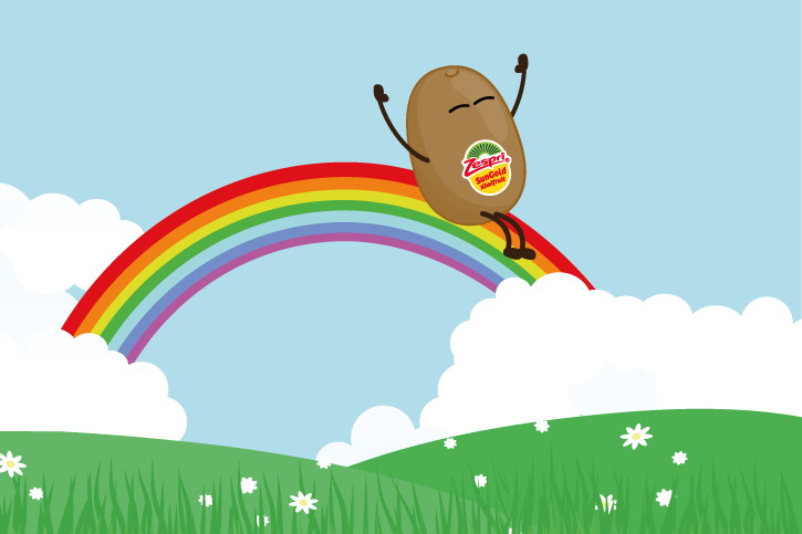 According to ancient folklore, there's a pot of gold to be found at the end of every rainbow. Sounds too good to be true? Well at Zespri we've got something even better: a delicious yellow kiwifruit with a full spectrum of flavours.