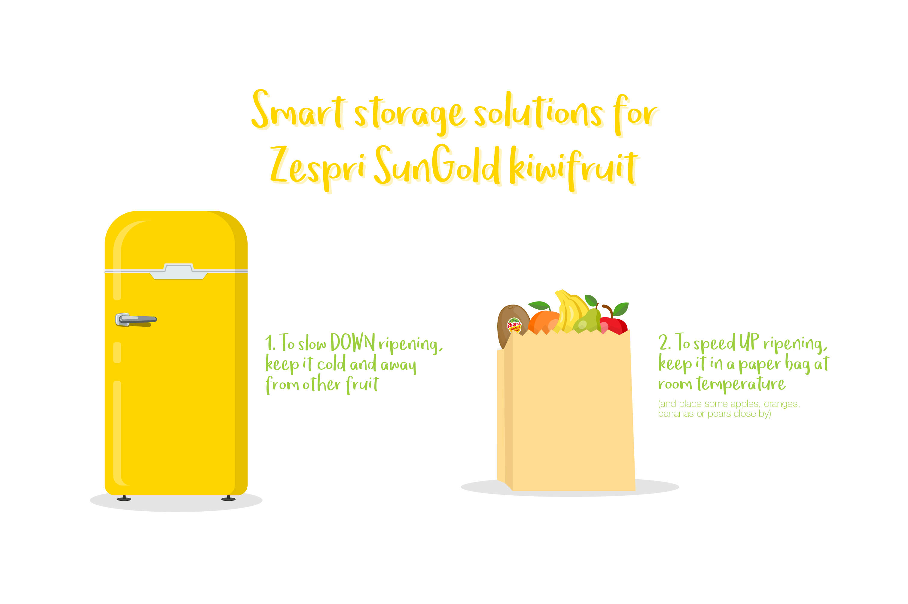 What's the best way to make sure food stays as fresh as the day you've bought it? Keep reading to find out how to make the most of your Zespri SunGold kiwifruit…