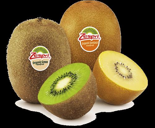Zespri organic kiwifruit