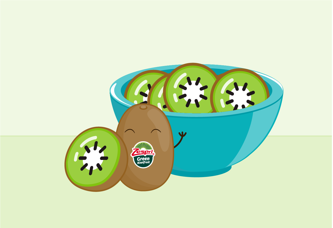 Zespri Green kiwifruit are a great way to start the day!post_web.png