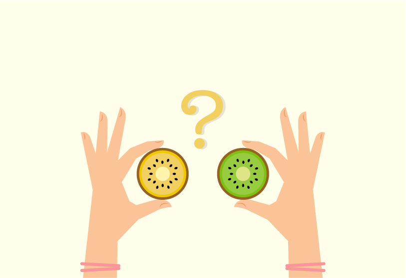 Zespri kiwifruit come in two delicious varieties